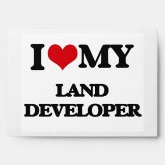 I love my Land Developer Envelope
