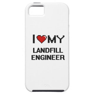 I love my Landfill Engineer iPhone 5 Covers