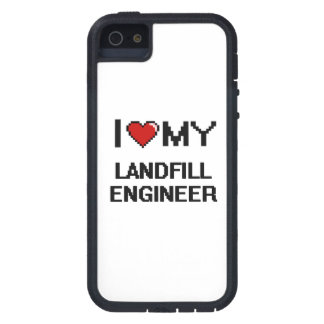 I love my Landfill Engineer iPhone 5 Cases