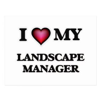 I love my Landscape Manager Postcard