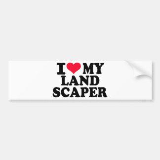 I love my Landscaper Bumper Stickers