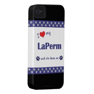 I Love My LaPerm (Female Cat) iPhone 4 Case-Mate Case