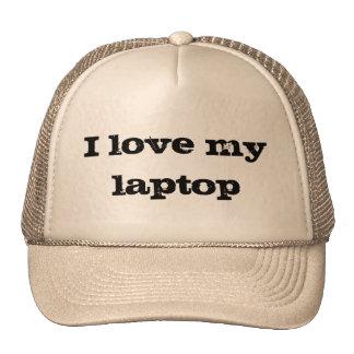 I love my laptop trucker hat