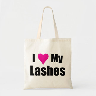 I Love My Lashes Totes Bag