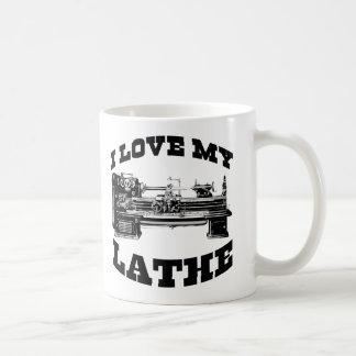 I Love My Lathe (as seen in Cuban Fury) Classic White Coffee Mug