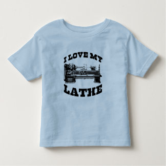 I Love My Lathe (as seen in Cuban Fury) T Shirts