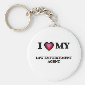 I love my Law Enforcement Agent Keychain