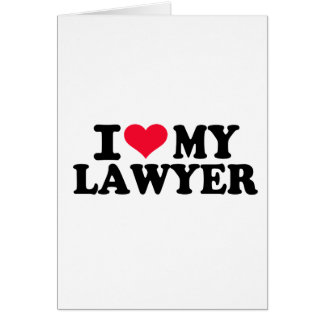 I love my Lawyer Card