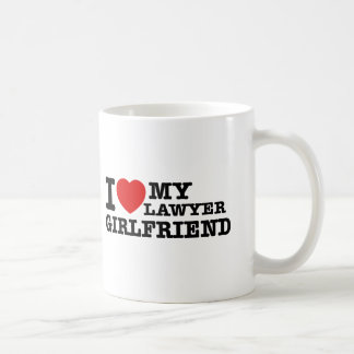 I love my Lawyer girlfriend Coffee Mug
