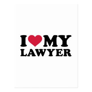 I love my Lawyer Postcard