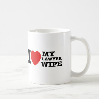 I love my Lawyer wife Coffee Mug