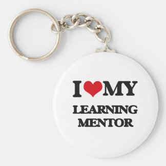 I love my Learning Mentor Key Chains