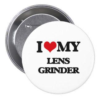 I love my Lens Grinder Pinback Buttons