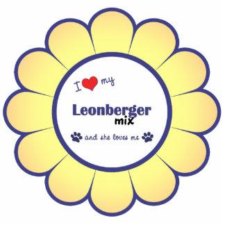 I Love My Leonberger Mix (Female Dog) Photo Cutouts