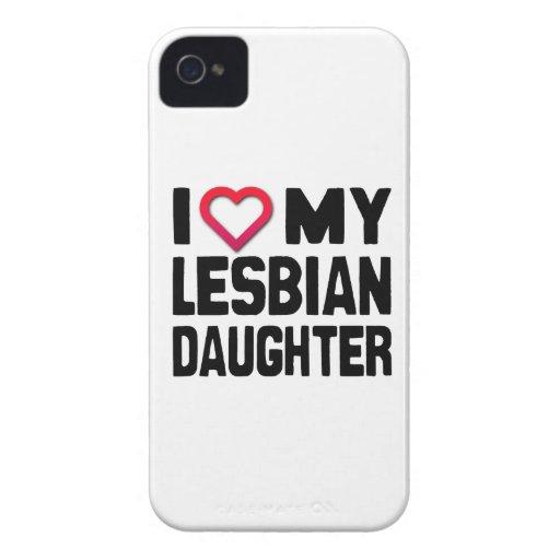 I LOVE MY LESBIAN DAUGHTER -.png Case-Mate Blackberry Case