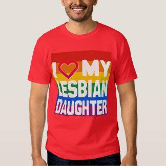 I LOVE MY LESBIAN DAUGHTER - -.png T-shirt