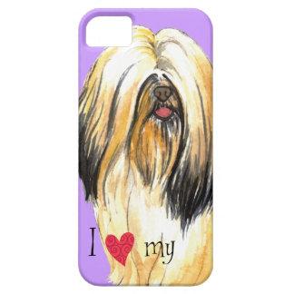 I Love my Lhasa Apso iPhone SE/5/5s Case