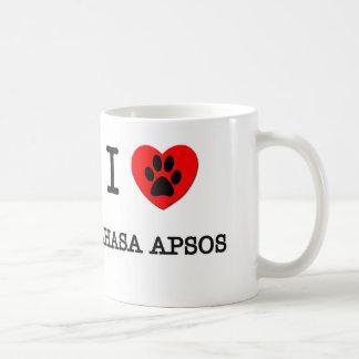 I LOVE MY LHASA APSOS COFFEE MUG