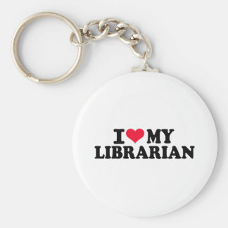 I love my Librarian Keychains
