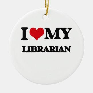 I love my Librarian Ornament