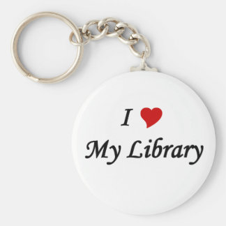 I love my library keychain