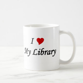 I love my library mugs