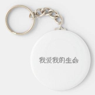 I love my life! (Chinese) Key Chain