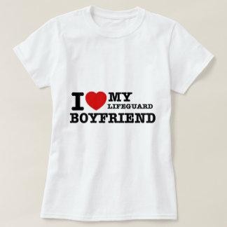 I love my lifeguard boyfriend T-Shirt