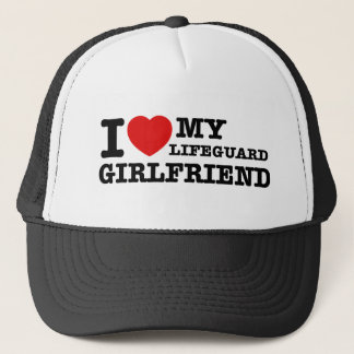 I love my Lifeguard girlfriend Trucker Hat