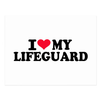 I love my Lifeguard Postcard