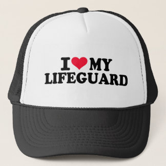 I love my Lifeguard Trucker Hat