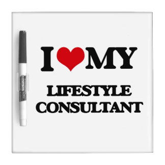 I love my Lifestyle Consultant Dry Erase Boards