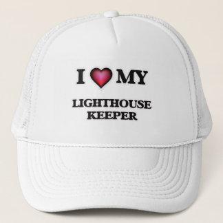 I love my Lighthouse Keeper Trucker Hat