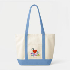 I Love My Lil' Jelly Bean Baby Shower Tote Bag at Zazzle