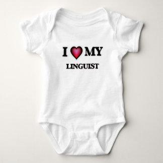 I love my Linguist Baby Bodysuit