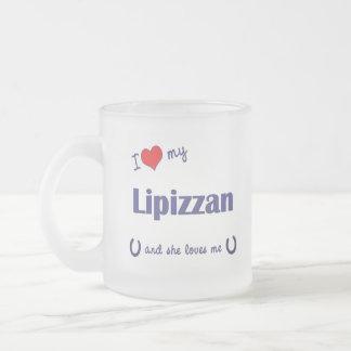 I Love My Lipizzan (Female Horse) Coffee Mug