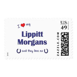 I Love My Lippitt Morgans (Multiple Horses) Postage