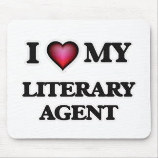 I love my Literary Agent Mouse Pad