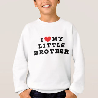 I Love My Little Brother T-Shirt