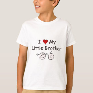I Love My Little Brother! T-Shirt