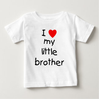 I Love My Little Brother T Shirts