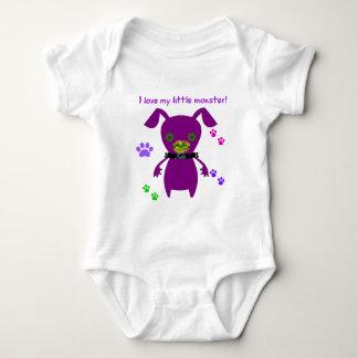 i love my little monster baby bodysuit