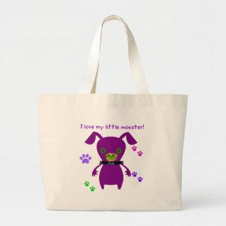 i love my little monster bag