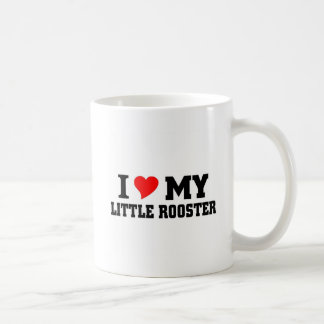 I love my Little Rooster Classic White Coffee Mug