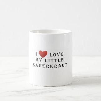 I love my Little Sauerkraut Basic White Mug