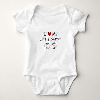 I Love My Little Sister! Baby Bodysuit