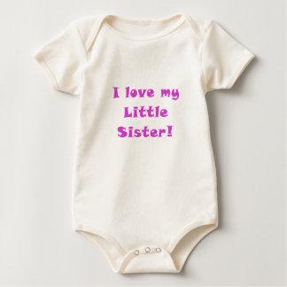 I Love my Little Sister Baby Bodysuit