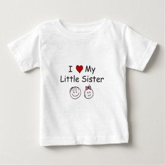 I Love My Little Sister! Baby T-Shirt