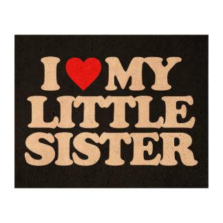 I LOVE MY LITTLE SISTER CORK PAPER