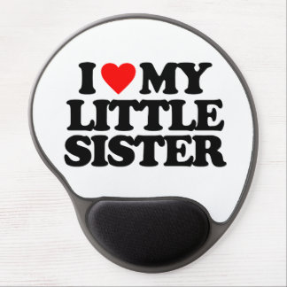 I LOVE MY LITTLE SISTER GEL MOUSE PAD